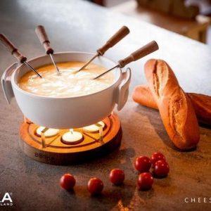 Kaas & chocolade fondue